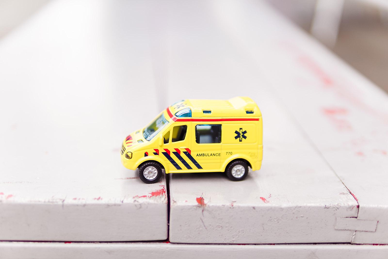 Miniatur Krankenwagen